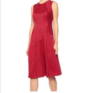 Anne Klein Titian Fit And Flare A-Line Dress Size8